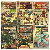 Group of 6 Marvel Comics Silver Age Comic Books