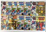 Group of 14 Marvel Comics The Infinity War Comic Books