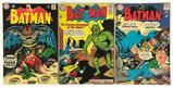 Group of 5 DC Comics Silver Age Batman Comic Books