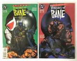 DC Comics Batman Vengeance of Bane #1 and #2 Comic Books