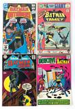 Group of 4 DC Comics Silver Age Batman Comic Books