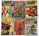 Group of 6 DC Comics Bronze Age The Flash Comic Books