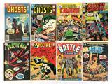 Group of 8 DC Comics Silver Age Comic Books