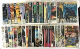 Group of 44 DC Comics Batman Comic Books