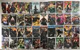 Group of 49 DC Comics Batman New 52, Rebirth, and Arkham Unhinged Comic Books