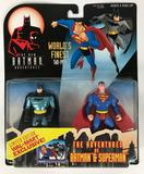 1998 Limited Wal-Mart Exclusive The New Batman Adventures World's Finest Two-Pack