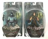 Group of 2 DC Direct Batman Arkham City Action Figures in Original Packaging