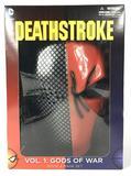 DC Comics Deathstroke Vol. 1 Gods of War Book and Mask Set