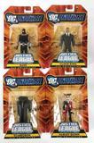 Group of 4 2008 Mattel DC Universe Justice League Unlimited Action Figures