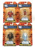 Group of 4 2009 Mattel DC Universe Justice League Unlimited Action Figures