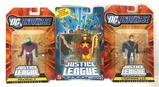 Group of 3 2005 and 2008 Mattel DC Universe Justice League Unlimited Action Figures