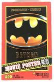 1989 Batman Movie Poster 500 Piece Puzzle