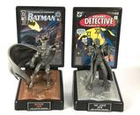 Group of 2 Comic Book Champions Batman and Joker Fine Pewter Statues