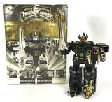 1993 Bandai Mighty Morphin Power Rangers Special Edition Black & Gold Megazord Complete in Original