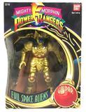 1993 Bandai Mighty Morphin Power Rangers Evil Space Alien Goldar Action Figure