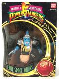 1993 Bandai Mighty Morphin Power Rangers Evil Space Alien Squatt Action Figure