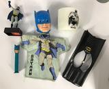 Group of Vintage Batman Items