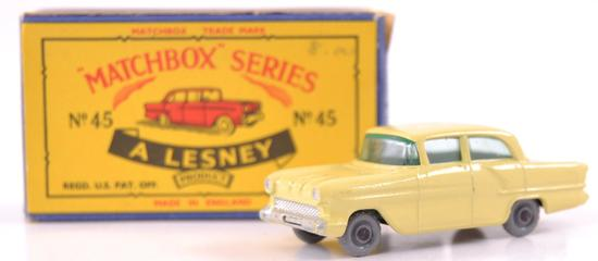 Matchbox No. 45 Vauxhall Victor Die-Cast Car with Original Box