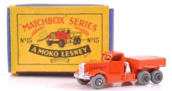 Matchbox No. 15 Prime Mover Die-Cast Truck with Original Box