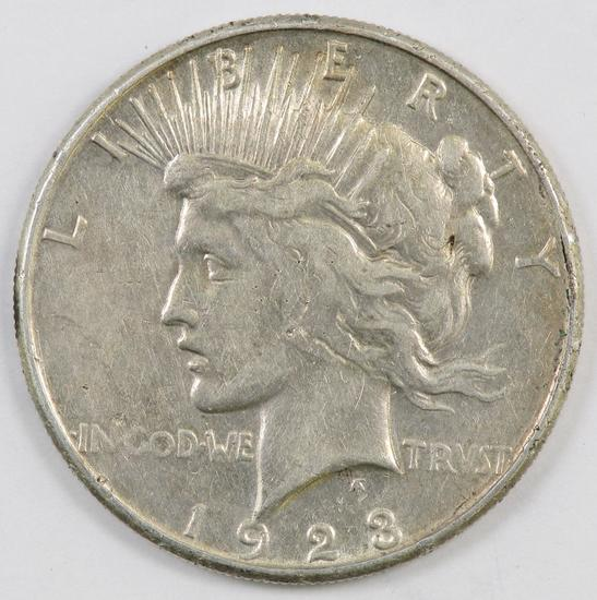 1923 S Peace Silver Dollar.