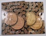 Lot of (178) Lincoln Cents in (2) Albums 1941-2013.