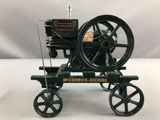 ERTL McCormick-Deering Model M die cast hand cart