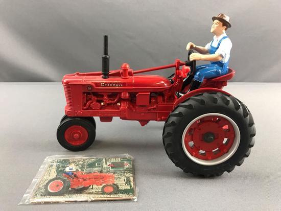 ERTL McCormick Farmall 50th anniversary die cast tractor