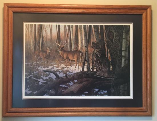 Signed and Numbered Friends of the Forest by Hayden Lambson