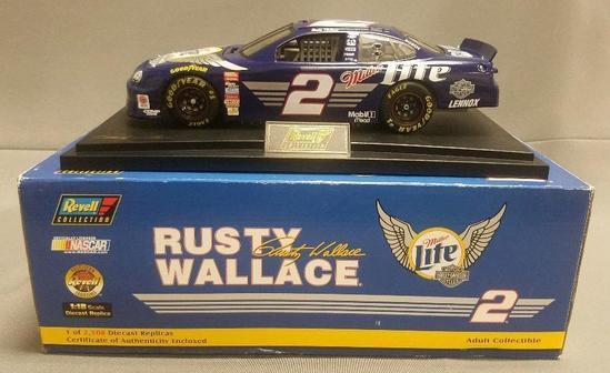 Revel Nascar Rusty Wallace Replica Racecar.