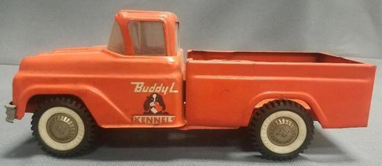 Vintage Buddy L Kennel Pick-up Truck.