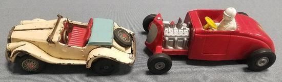 Lot of (2) Vintage Friction Cars.