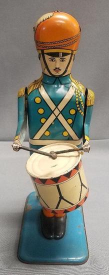 Vintage Wolverine No. 27 Drum Major Tin Toy.