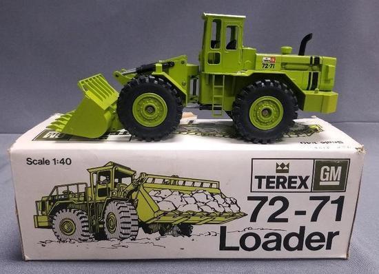 Terex GM 72-71 Loader Die-cast by Gescha.