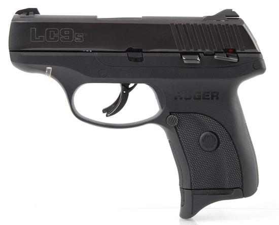 Ruger LC9s 9mm Luger Semi Automatic Pistol with Original Box