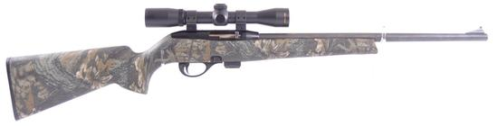Remington Model 597 .22 LR. Cal. Bolt Action Rifle with Nikon Scope