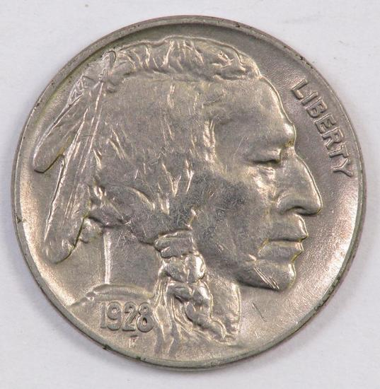 1928 P Buffalo Nickel.