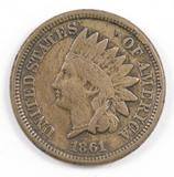 1861 CN Indian Head Cent.