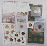 Mostly Lincoln Cent Grab Bag Lot - Sets, Errors, Proofs & More.