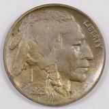 1929 D Buffalo Nickel.