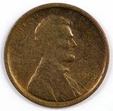 1909 S Lincoln Wheat Cent.