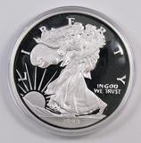 The Wahington Mint .999 Fine Silver 8oz. Walking Liberty Round.