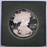 The Washington Mint 1994 5 Pounds of .999 Fine Silver Walking Liberty Round.