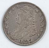 1825 Capped Bust Half Dollar.