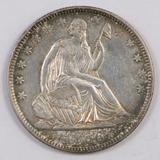 1856 O Seated Liberty Half Dollar.