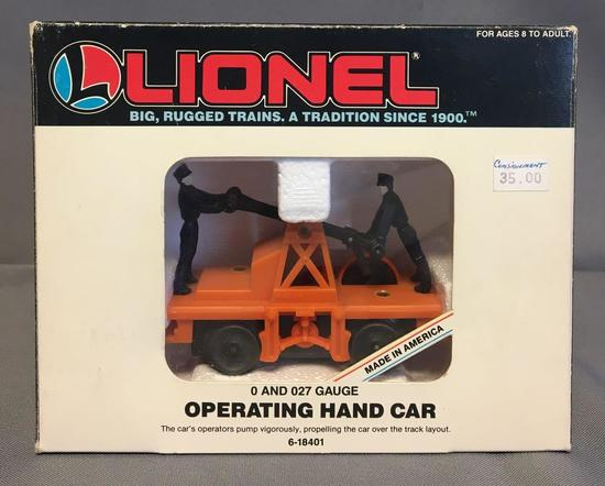 Lionel Operating Hand Car