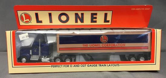 Lionel Corp Tractor Trailer in Original Box