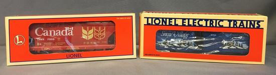 Group of 2 Lionel Hopper and Boxcar