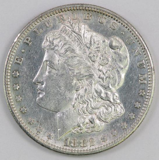 1882 S Morgan Silver Dollar.