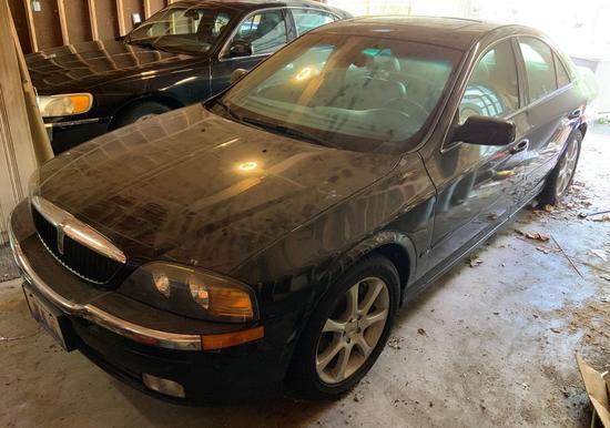 2001 Lincoln LS four-door sedan