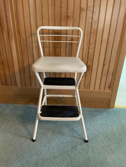 Vintage Costco step stool chair